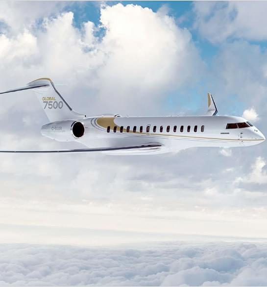 Le Bombardier Global 7500 obtient sa certification FAA