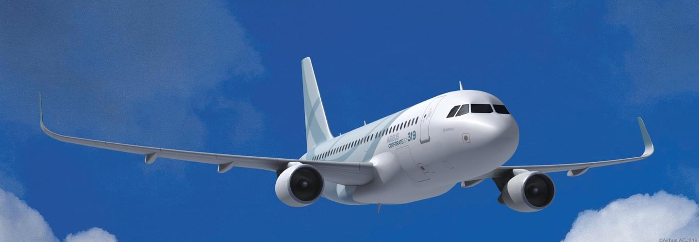 VIP Airliner Airbus Corporate Jet ACJ319 to charter with LunaJets for long haul intercontinental private jet flights