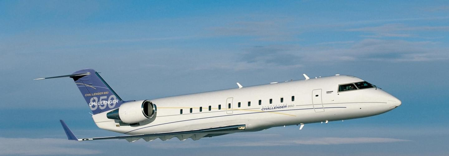 Super Large Jet Bombardier Challenger 850 available for private jet charter with LunaJets, medium-haul flights, extreme comfort, interior, efficiency