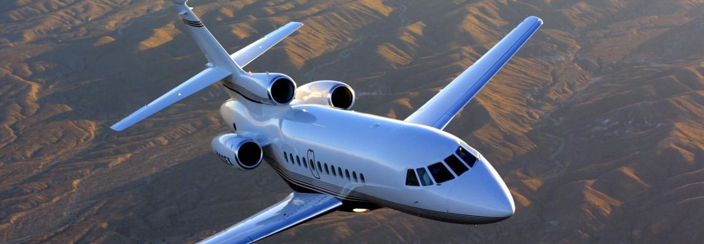 Super Large Business Jet Dassault Falcon 900B to charter for private aviation flights with LunaJets, French manufacturer, intercontinental