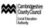 Cambridgeshire County Council - Local Education Authority