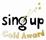 Sing up Gold Award
