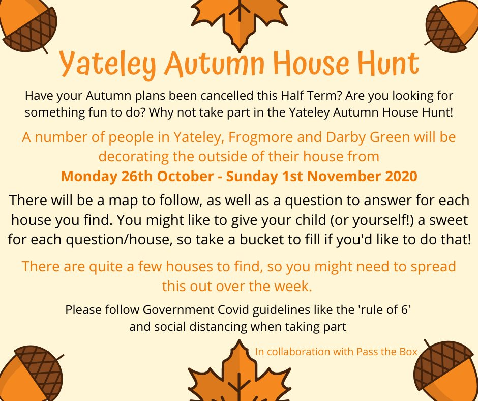 halloween house hunt Yateley