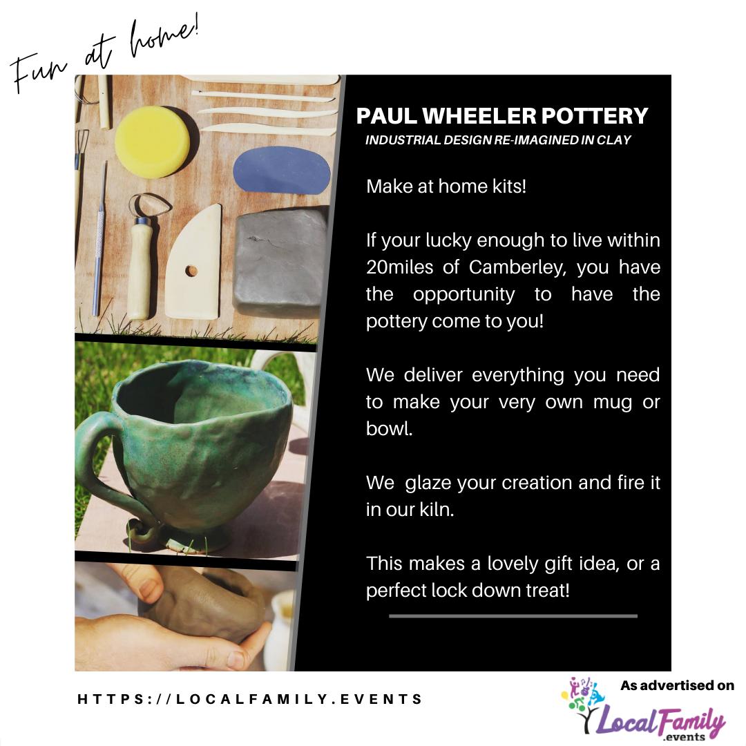 Pottery at home kits