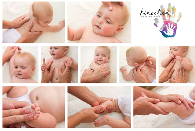 Baby massage classes on zoom