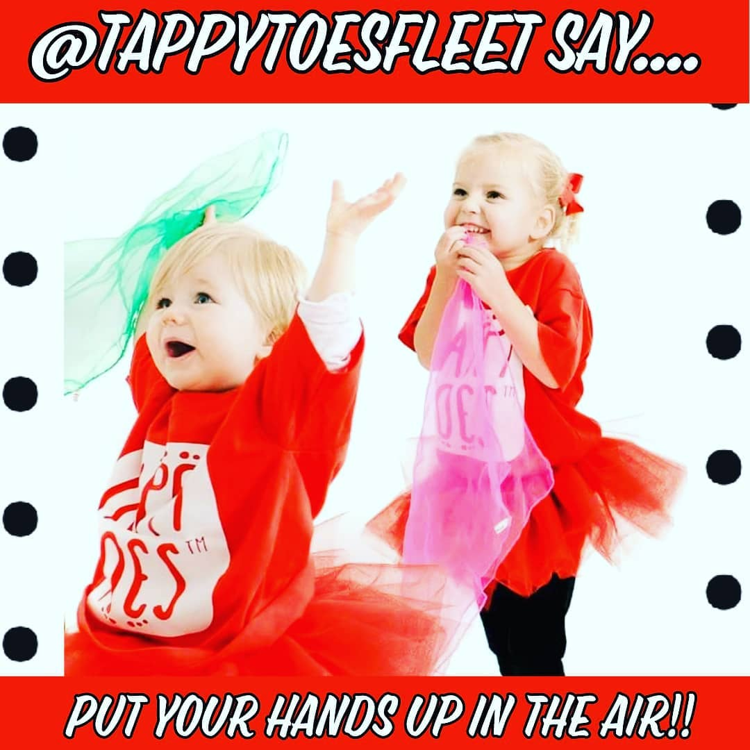 Toddlers enjoying a tappy toes class