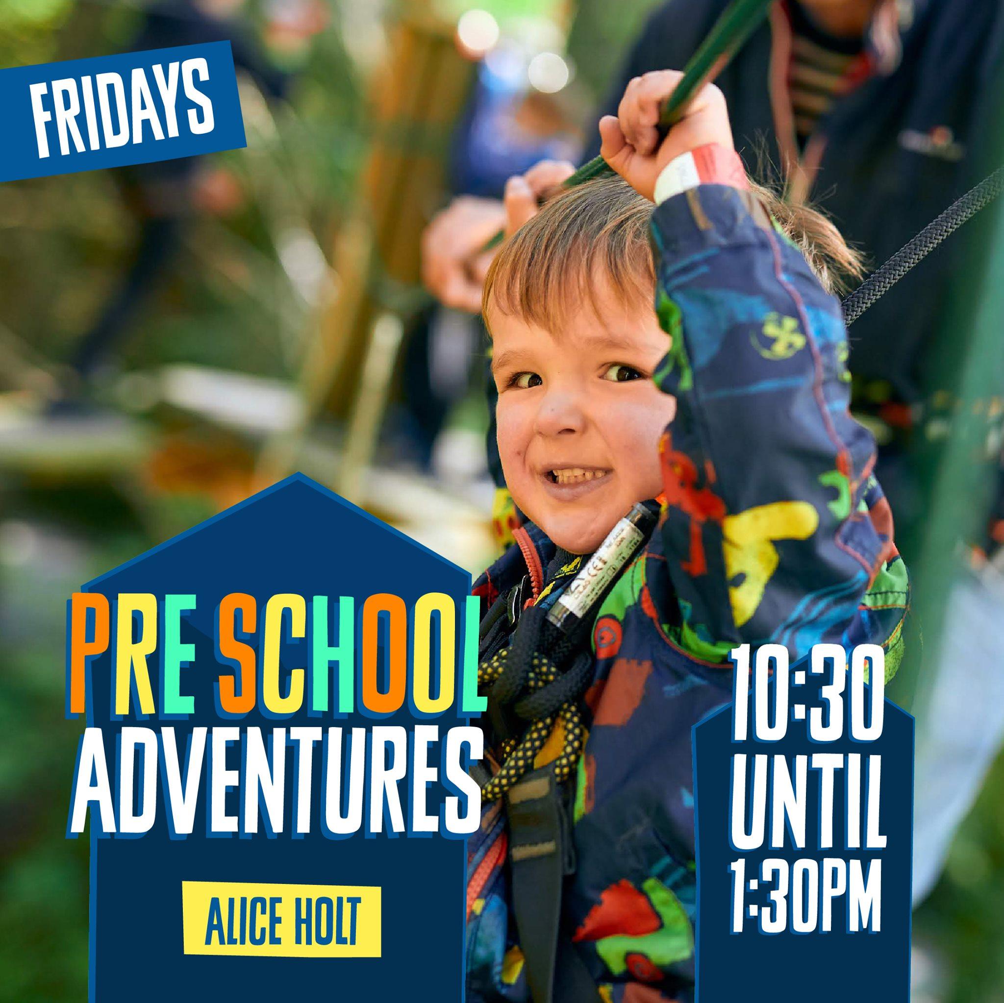 Go Ape for preschoolers