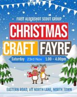 First Aldershot Scout Group Christmas Fayre