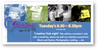 Vision 4 Youth - Creative club