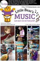 Little Bear's Music Classes for 18mths-4yrs