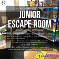 Junior Escape Room at Run-About