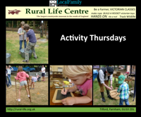Activity Thursday - Rural Life Living Museum