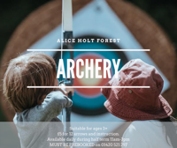 Alice Holt Forest Archery sessions