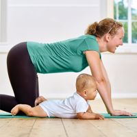 Virtual Mummy and Me Yoga Classes with Busylizzy