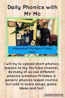 Daily Phonics with Mr Mc