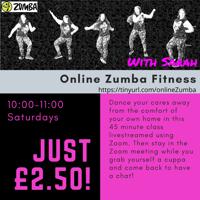 Pre recorded Zumba Fitness