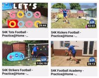 Over 5yrs S4K TV Sport and PE lessons to your livingroom