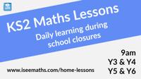 KS2 Maths Lessons by Junior teachers Years 3-6