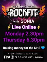 Live RockFit with Sonia - Raising money for the NHS