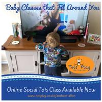 Online Social Tots (9mth - 3yrs)