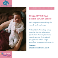 MummyNatal Birth Workshop from womb2world