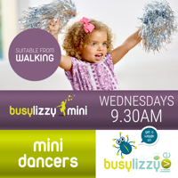 Virtual Hip Hop Tots Toddler Classes with Busylizzy