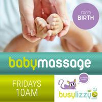 Virtual Baby Massage Classes with Busylizzy