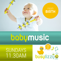 Virtual Baby Music Classes with Busylizzy