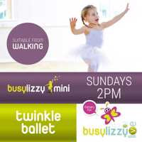 Virtual Twinkle Ballet Classes with Busylizzy