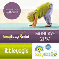 Virtual Little Yogis preschool Classes with Busylizzy