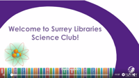 STEM and Science club - Surrey Library