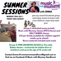 Music with Mummy and Jolly Babies Sandhurst online