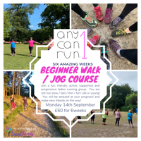 Fun, Ladies beginner Walk / Jog /  Run course
