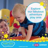 Toddler Sense Fleet - 13 months to 3.5 years