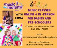 Music with Mummy Sandhurst 1-4yrs