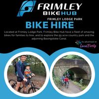 Frimley Bike Hub - Bike hire at Frimley Lodge Park