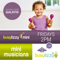 Virtual Mini Musicians Toddler Classes with Busylizzy