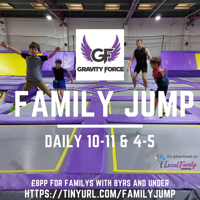 Gravity force Family Jump