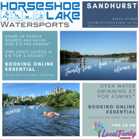 Casual water-sports hire for paddle-boards, kayaks and sailing dingy's