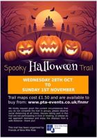 Spooky Halfterm Trail Finchampsted £1.50
