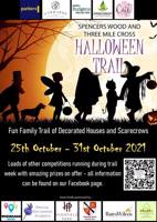 Spencers Wood and Three Mile Cross Halloween Trail £1