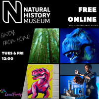 Natural History Museum - Nature Live Online