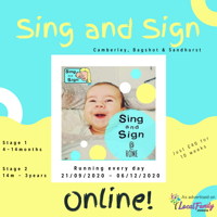 Sing and Sign @Home Stage 1