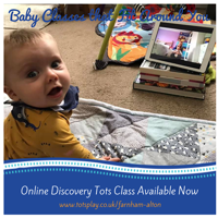 Discovery Tots, 8 weeks old to crawling - Farnham