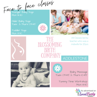 Blooming Baby Yoga (20 + weeks old) - FULLY BOOKED