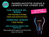 FREE Science Show: Theatre of science