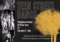 Teen Street Dance class - Boogie pumps Guildford