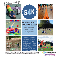 S4K Sport Holiday camps - Bordon