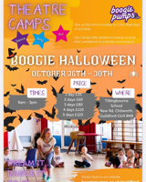 Boogie pumps Boogie Halloween Theatre Camp - Guildford
