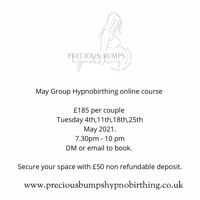 May Group Hypnobirthing Online Course